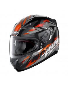 Casca moto Nolan N605 Full Face HYPERION Negru/rosu
