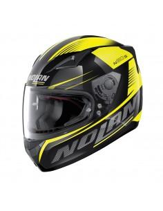 Casca moto Nolan N605 Full Face MOTRICO Negru/galben