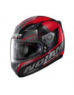 Casca moto Nolan N605 Full Face MOTRICO Negru/rosu