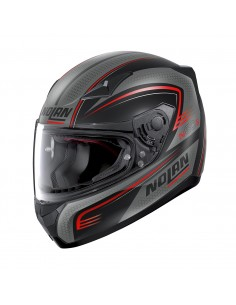 Casca moto Nolan N605 Full Face RAPID Negru/rosu