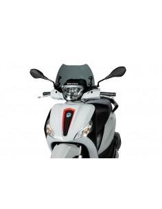 Parbriz Piaggio Medley 125-150cc Fumuriu inchis 375x270x3mm