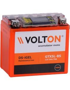 Baterie moto Volton 12V 5Ah YTX5L-BSiGEL
