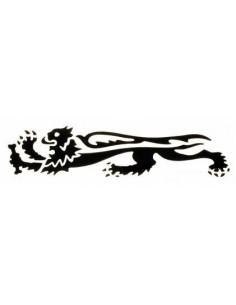 Sticker malossi Black Lion...
