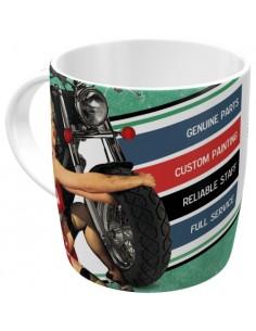 Cana ceramica Best Garage - Green 0.33ml
