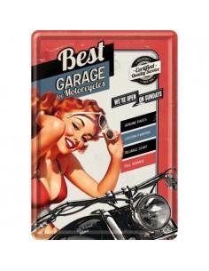 Carte postala Best Garage Red 10x14cm