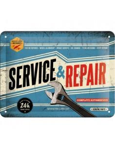 Placa 15x20cm Service & Repair