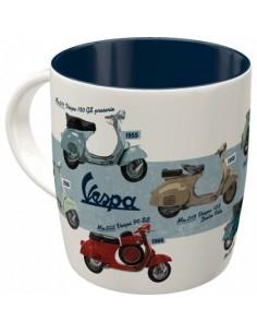 Cana ceramica Vespa Chart...