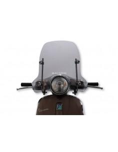 Parbriz sport Vespa Primavera 50-150cc fumuriu deschis L 510xI 420 grosime 3 mm