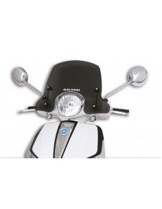 Parbriz sport Piaggio Liberty 50-150cc fumuriu inchis L 450xI 340 grosime 3 mm