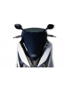 Parbriz sport Kymco Grand Dink/X-Town 125-300cc fumuriu inchis L 500xI 470 grosime 3 mm