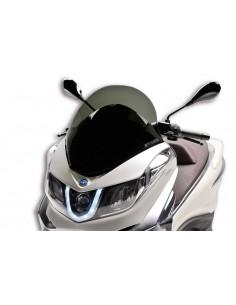 Parbriz sport Piaggio X10 125-500cc fumuriu inchis L 535xI 570 grosime 3 mm