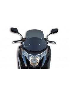 Parbriz sport Honda Integra 700-750cc fumuriu inchis L 432xI 445 grosime 3 mm