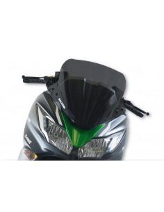 Parbriz sport Kawasaki J 125-300cc fumuriu inchis L 520xI 460 grosime 3 mm