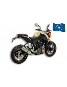Toba Esapament KTM Duke 125cc GP MHR REPLICA 4T omologat
