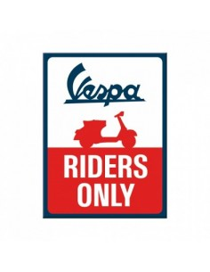 Magnet Vespa Riders Only