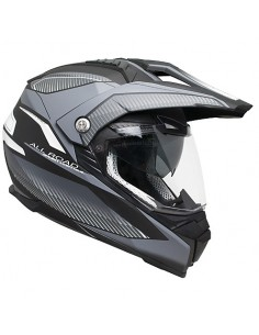 Casca moto enduro cross CGM Forward Titan mat